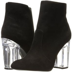 Glass Booties by QUPID